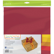 "Heated Hues - Tonic Studios Essentials Cardstock 12""X12"" 10/Pkg"