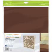 """Natural Neutrals - Tonic Studios Essentials Cardstock 12""""X12"""" 10/Pkg"""