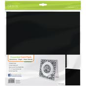 """Monochrome - Tonic Studios Essentials Cardstock 12""""X12"""" 10/Pkg"""