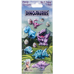 Big T - Dinosaurus Puffy Stickers