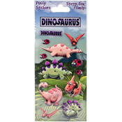Steggy - Dinosaurus Puffy Stickers
