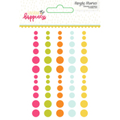 Sunshine & Happiness Enamel Dots - Simple Stories