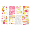 Sunshine & Happiness Sticker Sheets - Simple Stories