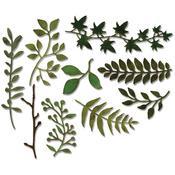 Garden Greens Thinlits Dies - Tim Holtz