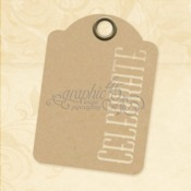Celebrate ATC Ivory Tags - Graphic 45