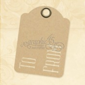To & From ATC Kraft Tags - Graphic 45