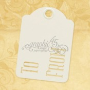 To & From Ivory Tags - Graphic 45