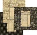 Square Black Policy Envelopes - Graphic 45
