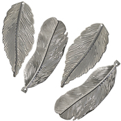 Salvaged Feathers 4/Pkg