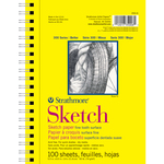 """100 Sheets - Strathmore Sketch Paper Pad 5.5""""X8.5"""""""