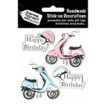 Vespa - Express Yourself MIP 3-D Stickers