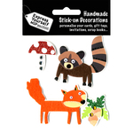 Fox & Raccoon - Express Yourself MIP 3-D Stickers