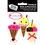 Ice Creams - Express Yourself MIP 3-D Stickers