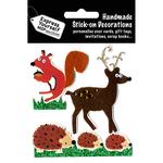 Reindeer, Squirrel & Hedgehogs - Express Yourself MIP 3-D Stickers