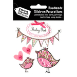 Baby Girl - Banners & Birds - Express Yourself MIP 3-D Stickers