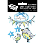 Baby Boy - Banners & Birds - Express Yourself MIP 3-D Stickers