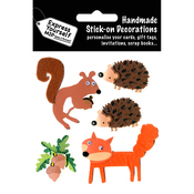 Forest Animals - Express Yourself MIP 3-D Stickers