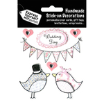 Wedding Day - Birds & Banners - Express Yourself MIP 3-D Stickers