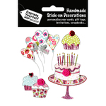 Party Cakes & Balloons - Express Yourself MIP 3-D Stickers