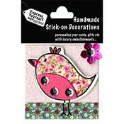 Floral Bird - Express Yourself MIP 3-D Stickers