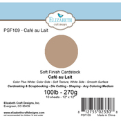 "Cafe Au Lait - Soft Finish Cardstock 12""X12"" 10/Pkg"