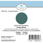 "Forest Green - Soft Finish Cardstock 12""X12"" 10/Pkg"