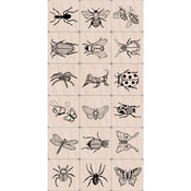 "Bugs - Hero Arts Ink 'n Stamp Tub 3""X4"""