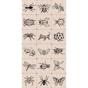 """Bugs - Hero Arts Ink 'n Stamp Tub 3""""X4"""""""