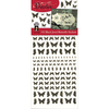 Jewel Butterflies-Black - Dazzles Stickers