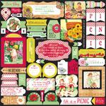 Cheerful Details Sticker Sheet - Authentique
