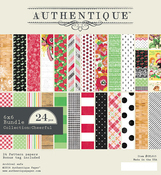 Cheerful 6 x 6 Paper Pad - Authentique