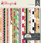 Cheerful 12 x 12 Paper Pad - Authentique