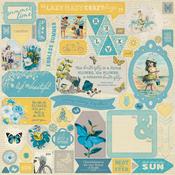 Felicity Details Sticker Sheet - Authentique