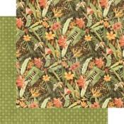 Lush Landscape Paper - Safari Adventure - Graphic 45
