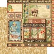 Amazing Africa Paper - Safari Adventure - Graphic 45