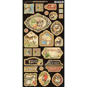 Safari Adventure Decorative Chipboard - Graphic 45