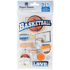 Basketball Swish - Paper House 3D Stickers