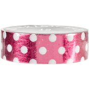 Red White Dots - Love My Tapes Foil Washi Tape 15mmx10m
