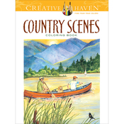 Creative Haven: Country Scenes - Dover Publications