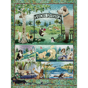 "Dog Park - Jigsaw Puzzle 500 Pieces 24""X18"""