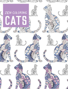 Zen Coloring: Cats - Guild Of Master Craftsman Books