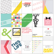 "Life Noted Card Pack 3""X4"" 20/Pkg"