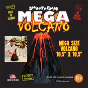White - Smooth Foam Mega Volcano Kit