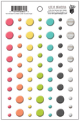 Life Is Beautiful Puffy Dot Stickers - Fancy Pants