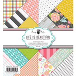 Life Is Beautiful 6 x 6 Paper Pad - Fancy Pants