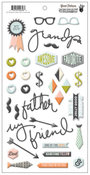 Good Fellows Puffy Designer Stickers - Fancy Pants