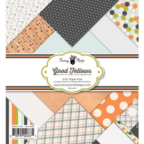 Good Fellows 6 x 6 Paper Pad - Fancy Pants
