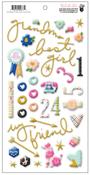 Puffy Design Stickers - Millie & June - Fancy Pants