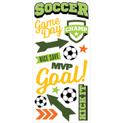 Soccer Champ - Paper House Puffy Stickers