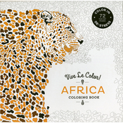 Vive Le Color! Africa Coloring Book - Abrams Books
